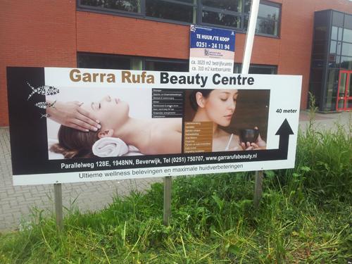 Foto-Reclamebord-Garra Rufa Beauty Beverwijk